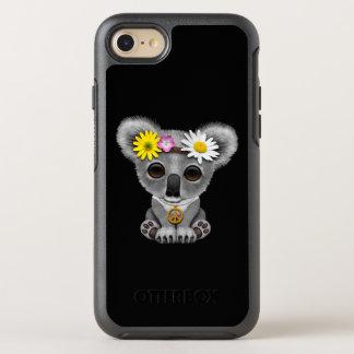 Cute Baby Koala Hippie OtterBox Symmetry iPhone 8/7 Case