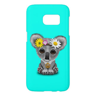 Cute Baby Koala Hippie Samsung Galaxy S7 Case
