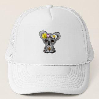 Cute Baby Koala Hippie Trucker Hat