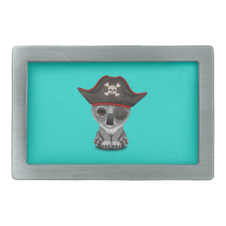 Cute Baby Koala Pirate Belt Buckle