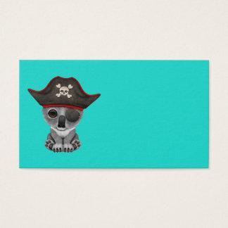 Cute Baby Koala Pirate Business Card
