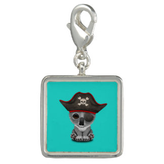 Cute Baby Koala Pirate Charm