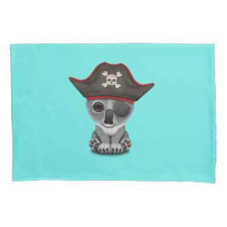 Cute Baby Koala Pirate Pillowcase