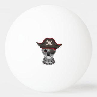Cute Baby Koala Pirate Ping Pong Ball