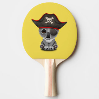 Cute Baby Koala Pirate Ping Pong Paddle
