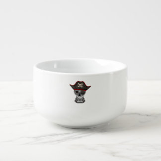Cute Baby Koala Pirate Soup Mug