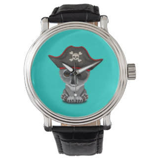 Cute Baby Koala Pirate Watch