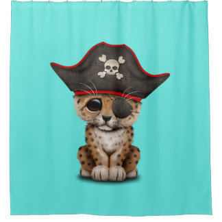 Cute Baby Leopard Cub Pirate