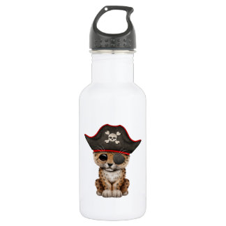 Cute Baby Leopard Cub Pirate 532 Ml Water Bottle