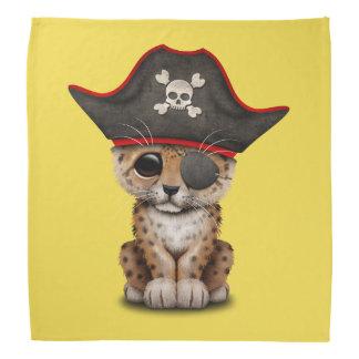 Cute Baby Leopard Cub Pirate Bandana