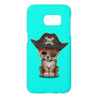 Cute Baby Leopard Cub Pirate Samsung Galaxy S7 Case
