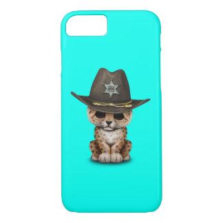 Cute Baby Leopard Cub Sheriff Case-Mate iPhone Case