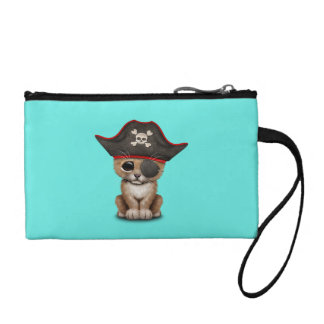 Cute Baby Lion Cub Pirate Coin Purse