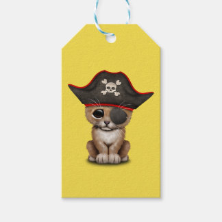 Cute Baby Lion Cub Pirate Gift Tags
