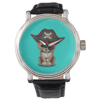 Cute Baby Lion Cub Pirate Watch