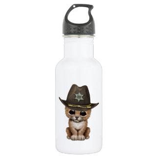 Cute Baby Lion Cub Sheriff 532 Ml Water Bottle