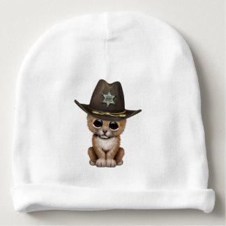 Cute Baby Lion Cub Sheriff Baby Beanie