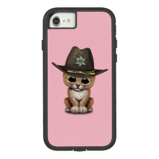 Cute Baby Lion Cub Sheriff Case-Mate Tough Extreme iPhone 8/7 Case