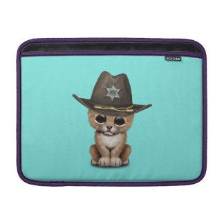Cute Baby Lion Cub Sheriff MacBook Sleeve