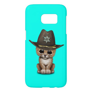 Cute Baby Lion Cub Sheriff Samsung Galaxy S7 Case