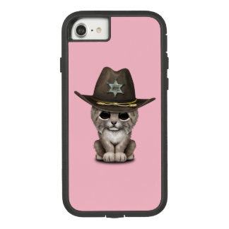 Cute Baby Lynx Cub Sheriff Case-Mate Tough Extreme iPhone 7 Case