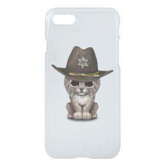 Cute Baby Lynx Cub Sheriff iPhone 7 Case