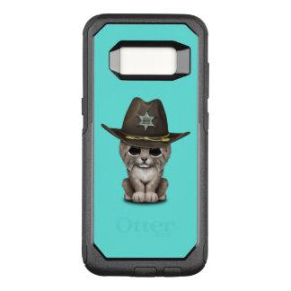 Cute Baby Lynx Cub Sheriff OtterBox Commuter Samsung Galaxy S8 Case