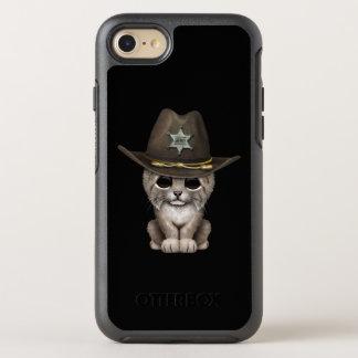 Cute Baby Lynx Cub Sheriff OtterBox Symmetry iPhone 8/7 Case