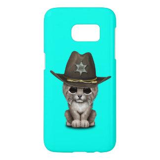 Cute Baby Lynx Cub Sheriff Samsung Galaxy S7 Case