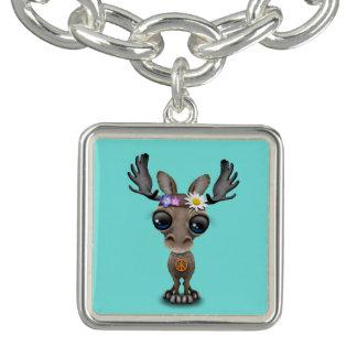 Cute Baby Moose Hippie Charm Bracelets