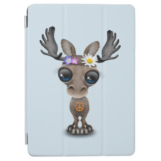 Cute Baby Moose Hippie iPad Air Cover