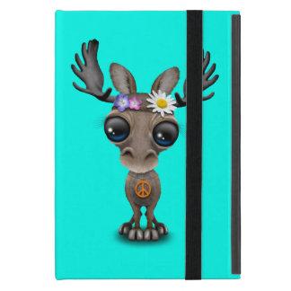 Cute Baby Moose Hippie iPad Mini Case