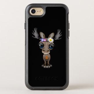 Cute Baby Moose Hippie OtterBox Symmetry iPhone 8/7 Case