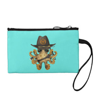 Cute Baby Octopus Zombie Hunter Coin Purse