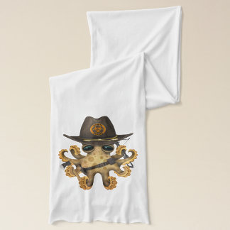 Cute Baby Octopus Zombie Hunter Scarf