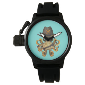 Cute Baby Octopus Zombie Hunter Watch