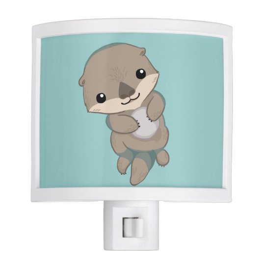Cute Baby Otter Pup Night Lights