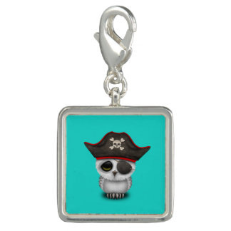 Cute Baby Owl Pirate Charm