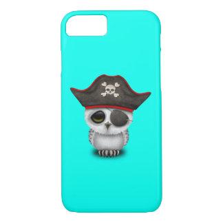 Cute Baby Owl Pirate iPhone 8/7 Case