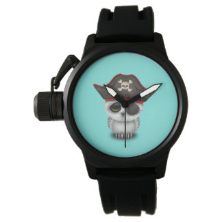 Cute Baby Owl Pirate Watch