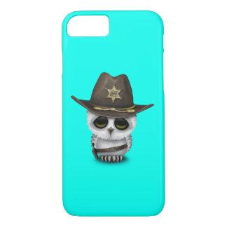 Cute Baby Owl Sheriff Case-Mate iPhone Case
