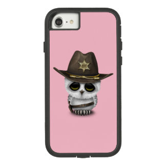 Cute Baby Owl Sheriff Case-Mate Tough Extreme iPhone 8/7 Case