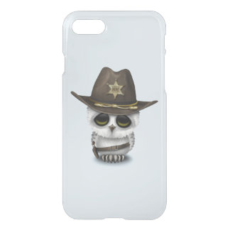 Cute Baby Owl Sheriff iPhone 8/7 Case