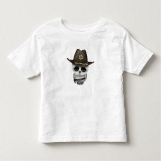 Cute Baby Owl Sheriff Toddler T-shirt