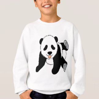 Cute Baby panda cub playing Sweatshirt
