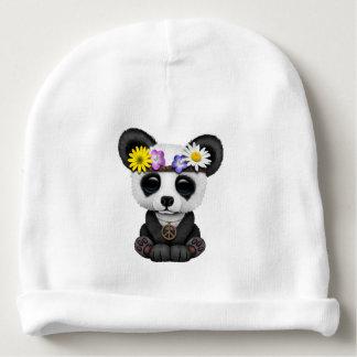 Cute Baby Panda Hippie Baby Beanie