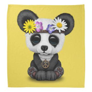 Cute Baby Panda Hippie Bandana