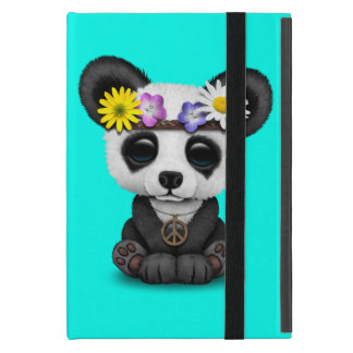 Cute Baby Panda Hippie Case For iPad Mini