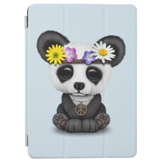 Cute Baby Panda Hippie iPad Air Cover