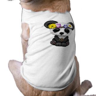 Cute Baby Panda Hippie Pet Tee Shirt